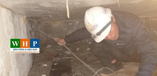 Thi công sửa chữa kết cấu